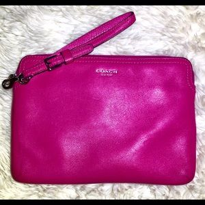 Hot Pink COACH Tablet Case/Sleeve and/or Clutch